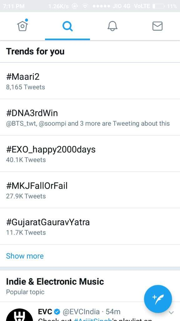 DNA3rdWin is now trending 2nd worldwide  !   ARMY's Amino