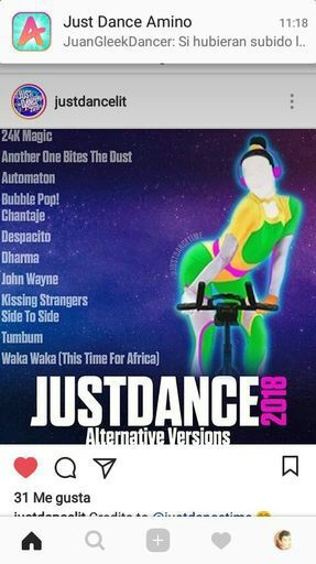 JUST DANCE 2018 ALTERNATIVAS (CONFIRMADAS) | Just Dance