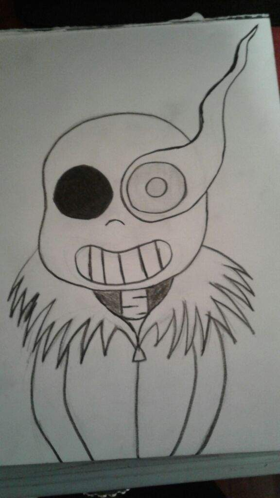 Outline of sans drawing | Undertale Amino