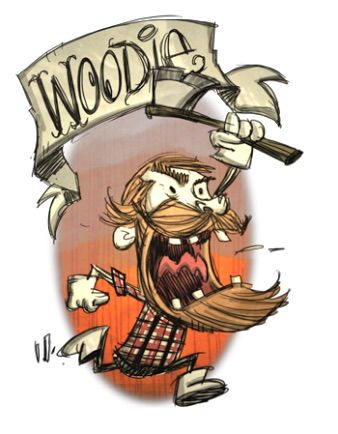 Woodie Wiki Don T Starve Br Amino