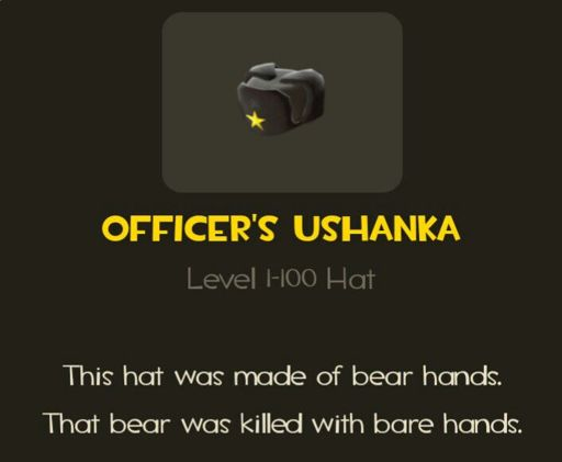 Officer's Ushanka | Wiki | Team Fortress 2 Amino