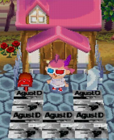 I Did Pixel Art Of Agust D In Animal Crossing Armys Amino