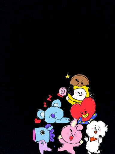 Bt21 Wallpaper Army S Amino