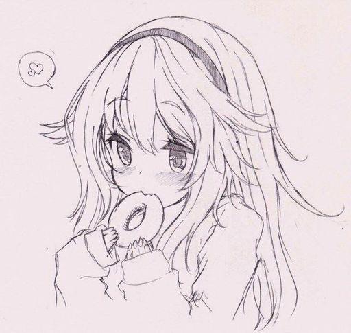Cute Girl Eating Like A Cutie Anime Amino
