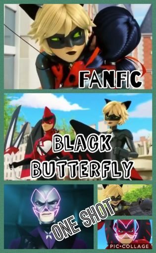 Black Butterfly-One Shot FanFic | Miraculous Amino