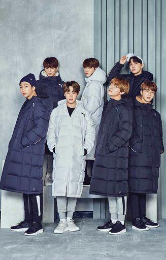BTS x Puma : Hug Winter Collection [Update]   ARMY's Amino