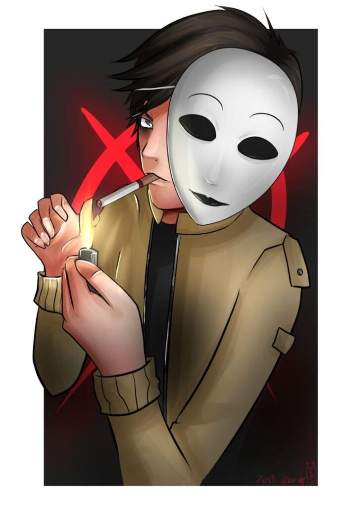 тим маски из крипипасты картинки