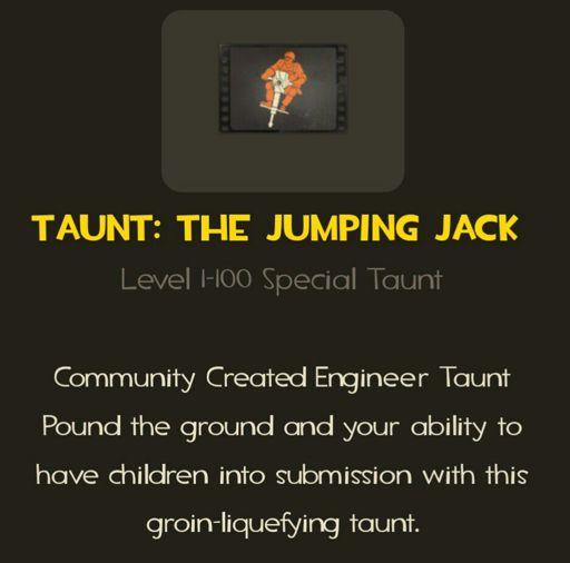 Jumping Jack | Wiki | Team Fortress 2 Amino