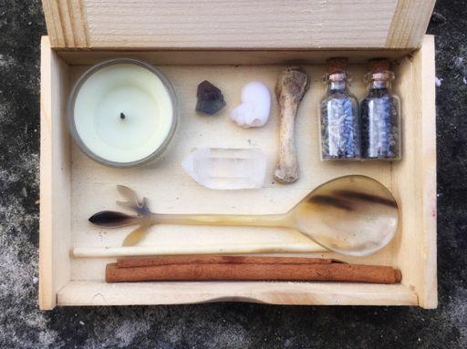 Greek God Pan Portable Travel Altar Box