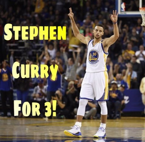 Stephen Curry For 3 Hardwood Amino