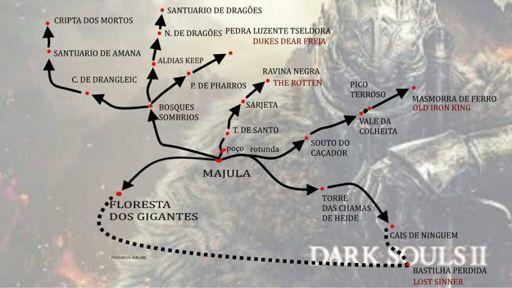 Mapa Dark Souls 2.Mapa De Dark Souls 2 Dark Souls Brasil Amino