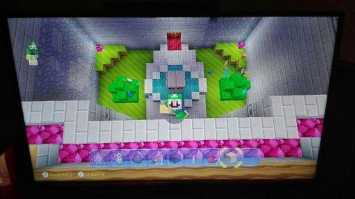 SUPER MARIO MINECRAFT On Wii U Mario Amino - Maps fur minecraft wii u