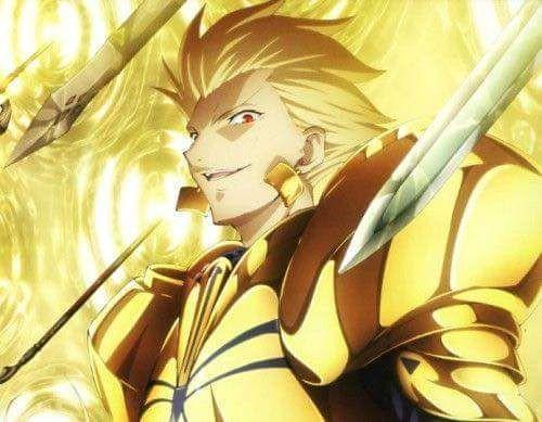 Gilgamesh Fatestay Night Vs Riser Phenex Highschool Dxd