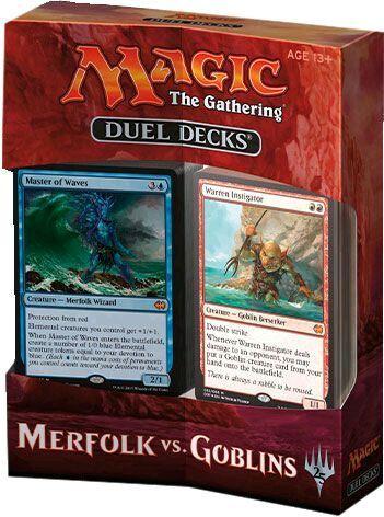 MTG Merfolk Sovereign Merfolk vs Goblins Rare