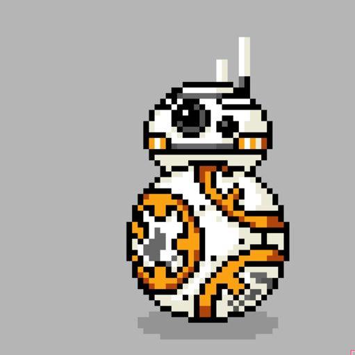 Bb 8 Pixel Art Star Wars Amino