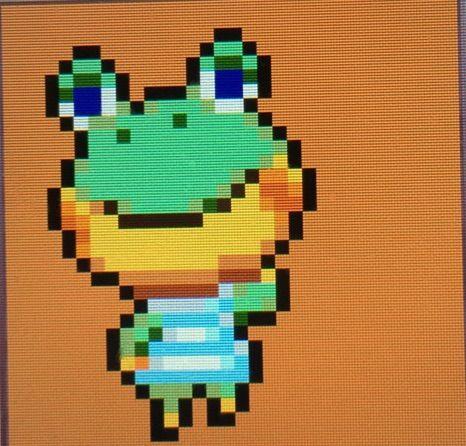 Henry Pixel Art Animal Crossing Amino