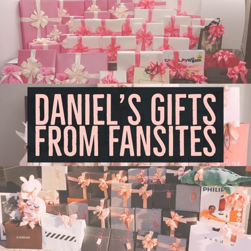 daniel s gifts from fansites wanna one 워너원 amino