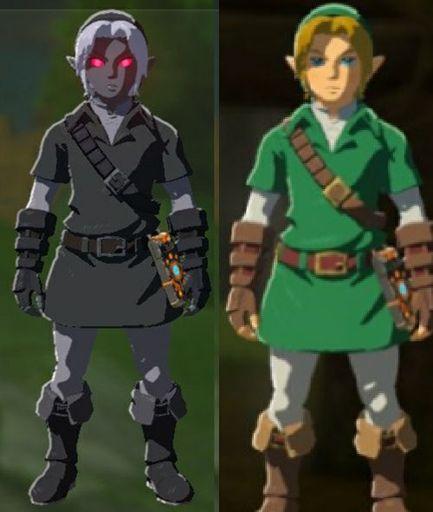 Dark Link Armor Set Wiki Zelda Amino