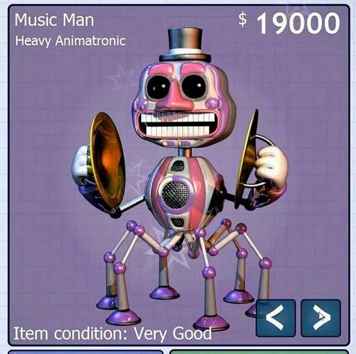 Music Man Wiki Five Nights At Freddys Amino