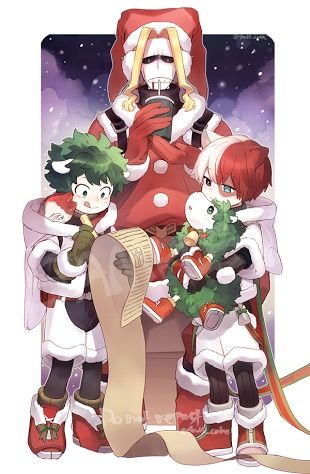 Merry Christmas My Hero Academia Amino