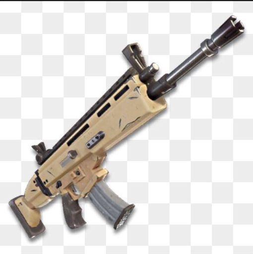 "Assault Rifle ""SCAR"""