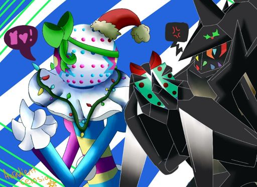 Christmas Time Is Here Be More Happy Necrozma Pok 233 Mon