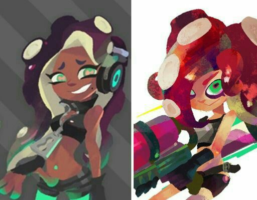 Theory Is Marina Actually An Octoling Splatoon Amino