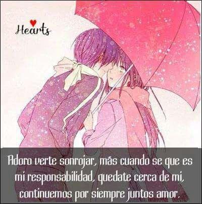 Mis Frases De Amors Anime Amino