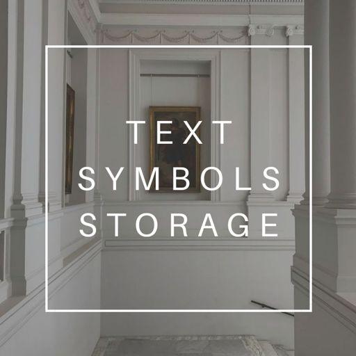 Text Symbol Storage Wiki Wiki Virtual Space Amino