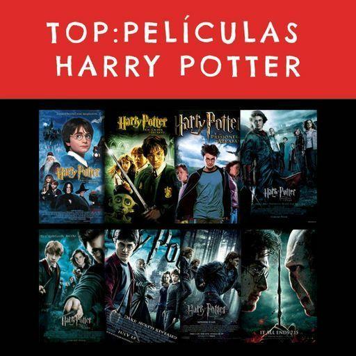 TOP PELÍCULAS DE HARRY POTTER! | •Harry Potter• Español Amino