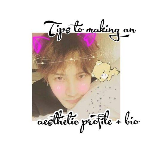 Tips to making an aesthetic profile + bio   GOT7 Amino