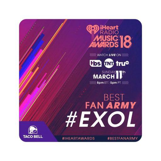 Billboard and iHeartRadio voting! 🗳️   EXO (엑소) Amino