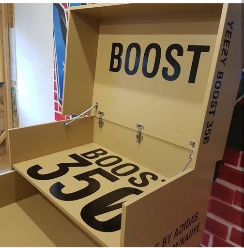 Giant shoe boxes/Storage solution