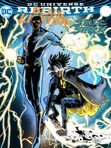 black lightning bring back static shock comics amino