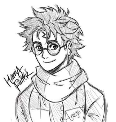 How To Draw Harry Harry Potter