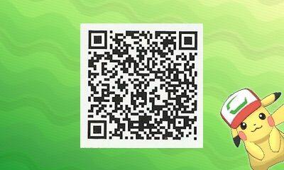 Ash Cap Pikachu Qr Code For Pokemon Ultra Sun And Wiki