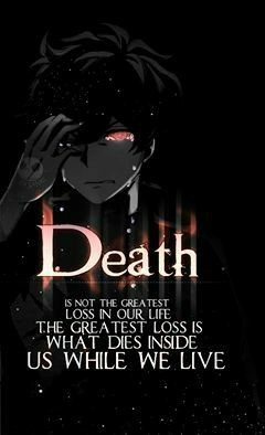 Anime dark quotes | Anime Amino