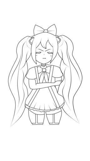 Dibujo De Hatsune Miku Vocaloid Amino En Español Amino