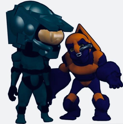 Halo spartan,grunt and flood chibi models i made  | Video