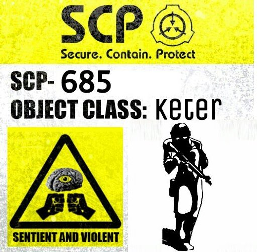 SCP-685 | Wiki | SCP Foundation Amino