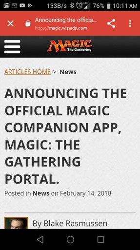 New magic app    MTG Amino