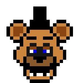 Pixel art de Freddy | FNaF Amino [ Español ] Amino