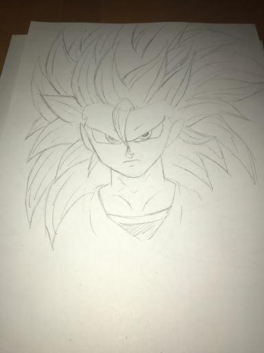 Angel Super Saiyan 3 Made By Karate Kid Looks Like Goku Almost