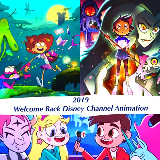 2019: Welcome Back Disney Channel Animation