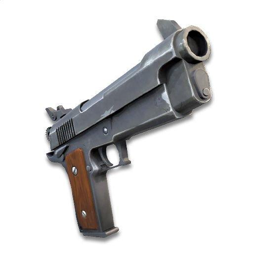 Buff the pistol | Fortnite: Battle Royale Armory Amino