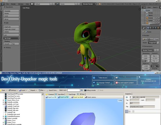 I just started ripping Yooka Laylee models | Furry Amino