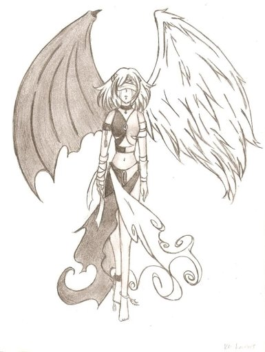 Sami Angel And Demon Hybrid