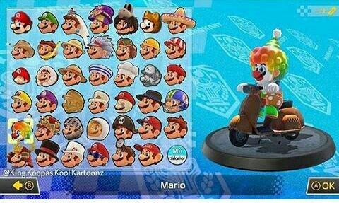 Leaked Mario Kart 9 Roster Mario Kart Amino