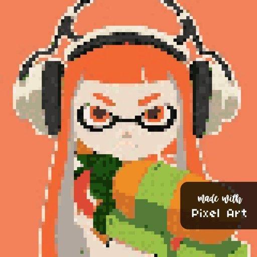 Pixel Art N1 Splatoon Français Amino