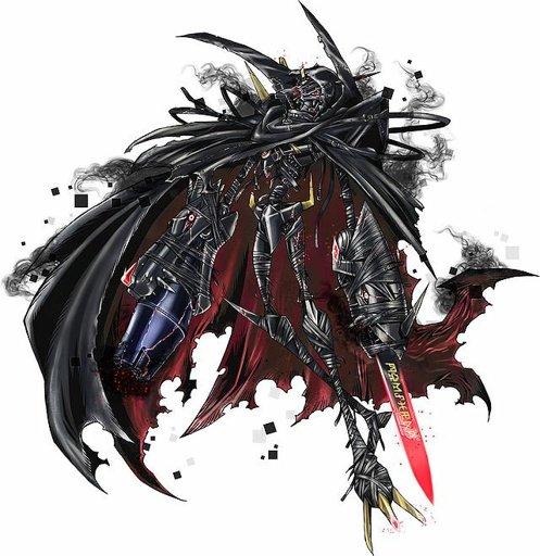 Omegamon Zwart D (オメガモンズワルト D)